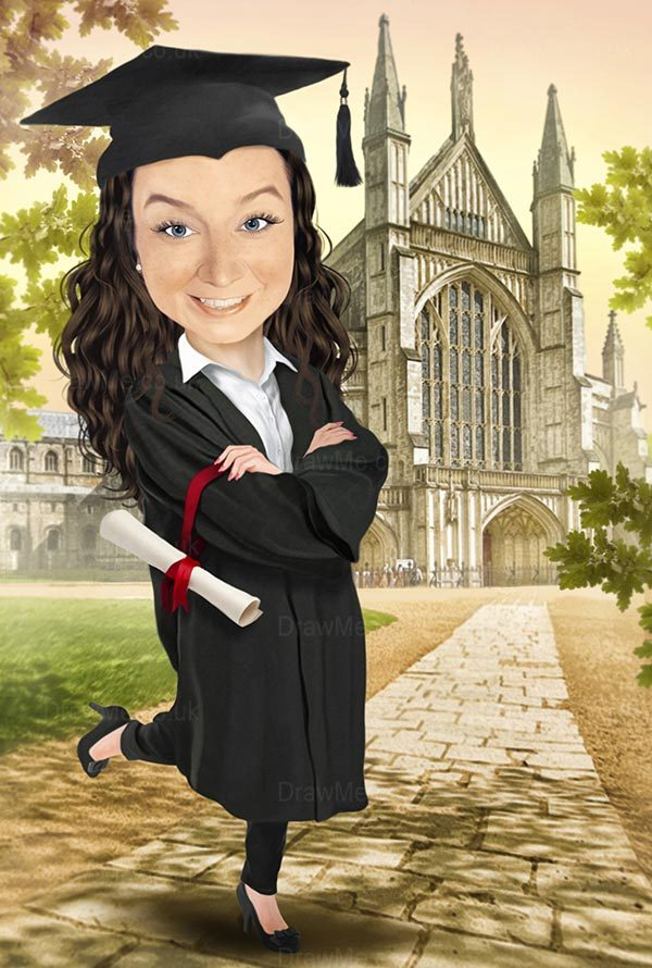 Graduation Caricature 96b